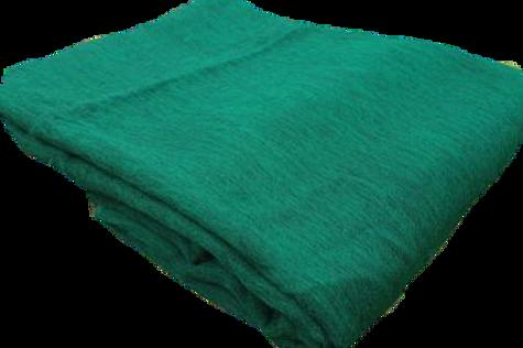 Manta Alpaca Verde