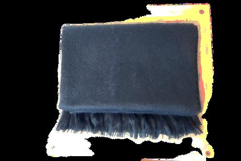 Bufanda gris azulado