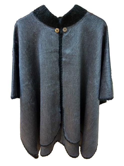 Poncho Gris Oscuro