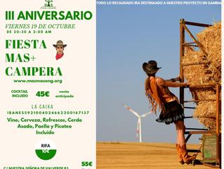 III ANIVERSARIO MAS+ CAMPERO
