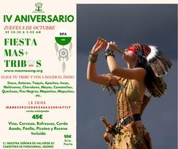 IV ANIVERSARIO MAS+ TRIBUS