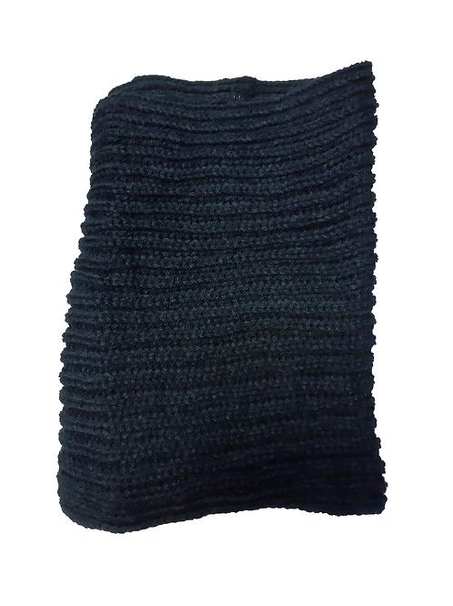 Cuello Lana Azul Oscuro