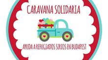 CARAVANA SOLIDARIA REFUGIADOS SIRIOS EN BUDAPEST
