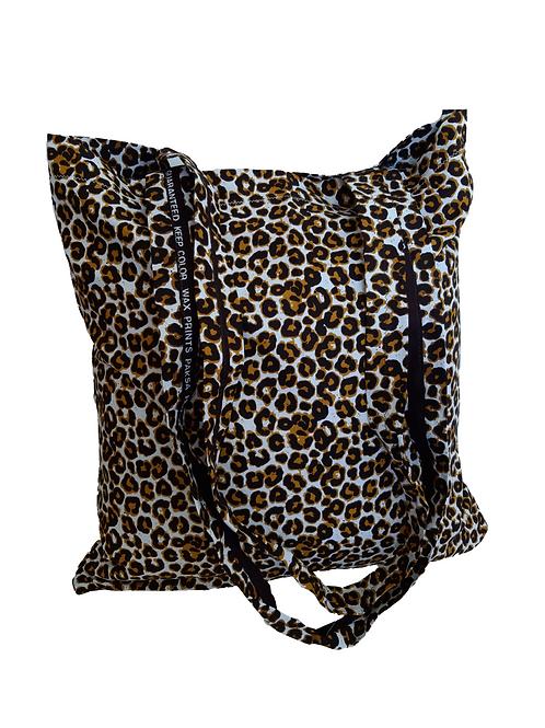 Bolsa Tela Leopardo