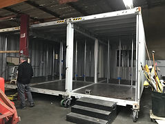 Container house construction