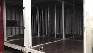 container house construction tour