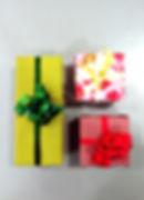 carta regalo pacchi confezione