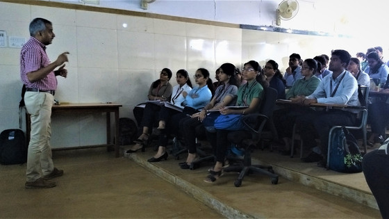Provork conducts tourism awareness session for post-graduate students at Garware institute