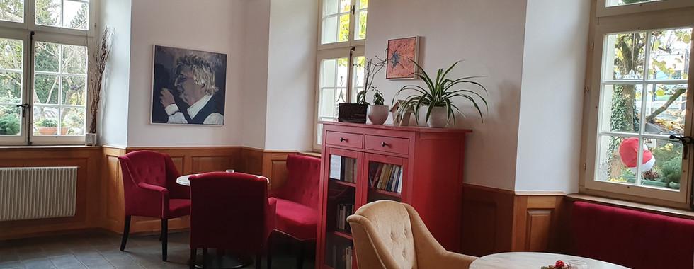 Lounge bei Spielecke im Café EG.