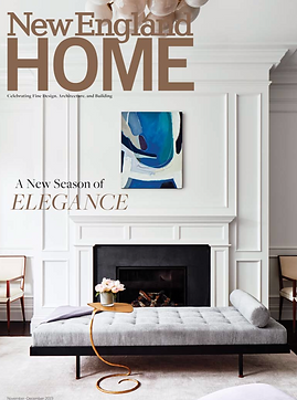 New England Home Magazine Brownstone Back Bay