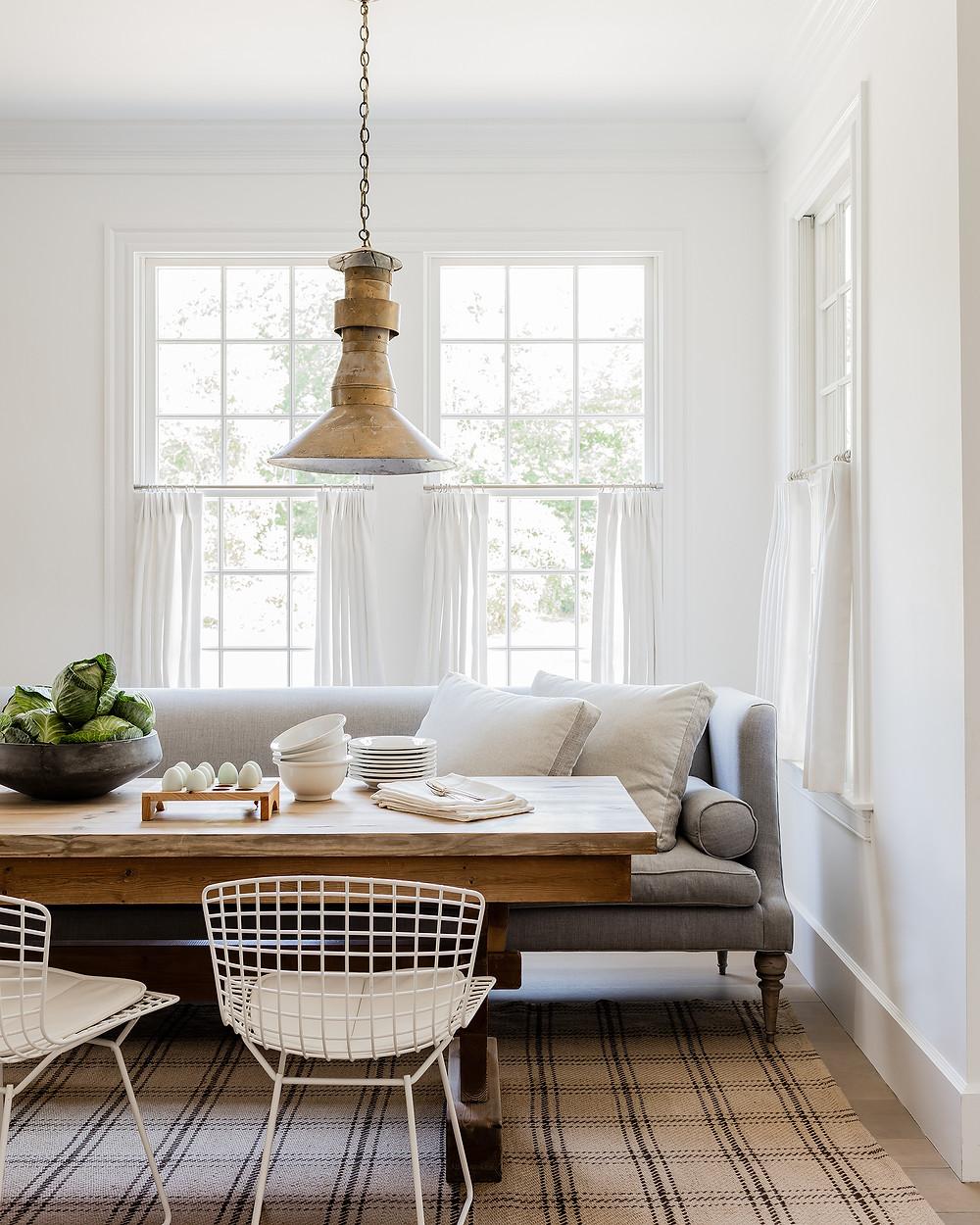 Breakfast Room by Lisa Tharp.  Photo by Michael J. Lee.