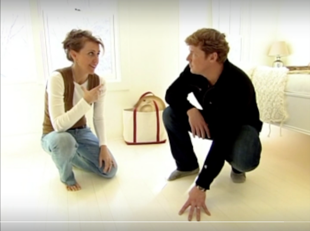 television, interview, floor paint, paint, organic, nontoxic, ECOS, Lisa Tharp Colors, ECOS Paints, color, interior design, designer, Lisa Tharp, Kevin O'Connor