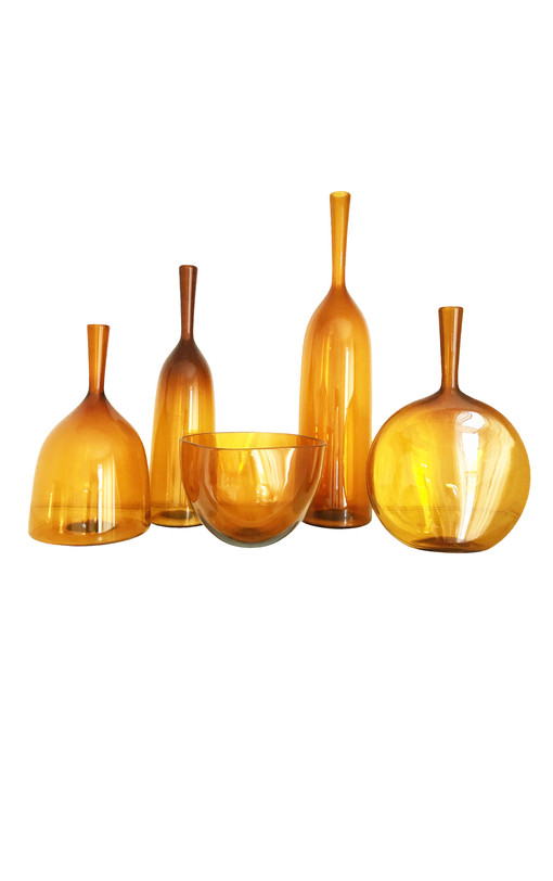 Angelic Amber Glass Collection