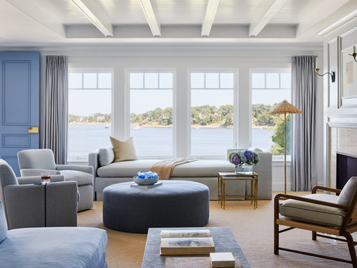 BEFORE / AFTER: A House by the Sea is Elevated with New Millwork + Furnishings