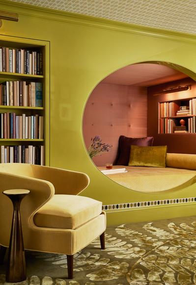 Literary Retreat   Lisa Tharp Design