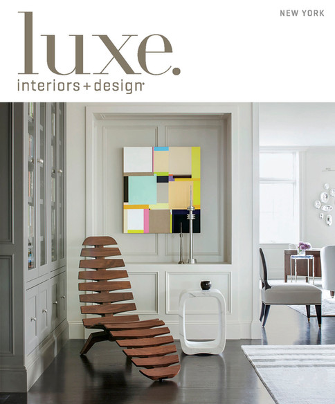 May/June 2019 Luxe Magazine Cover Featuring Park View by Lisa Tharp