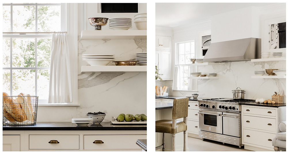Kitchen - After.  Interior Architecture + Design by Lisa Tharp.  Photo by Michael J. Lee.
