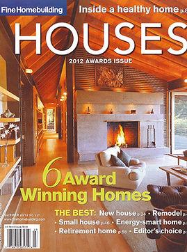 Fine Homebuilding house awards cover 201