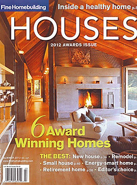 Fine Homebuilding house awards cover 201