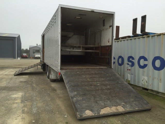Rear loading