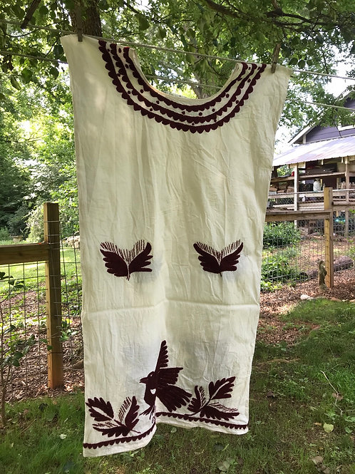 Lovely embroidered cotton dress