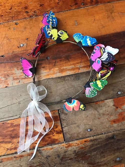 New butterfly headband