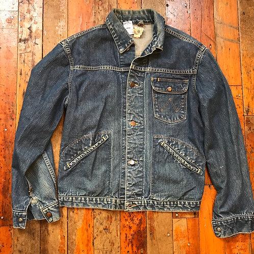 Vintage 1950's wrangler blue bell jean jacket