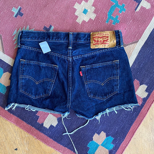 Recycled Levi's shorts
