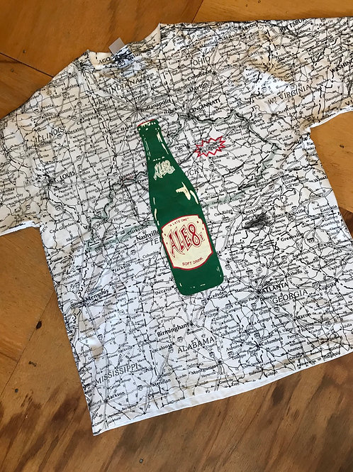 Vintage 1990's all over print t