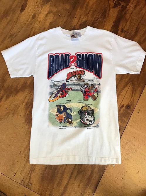 Vintage t-shirt roadshow 2000