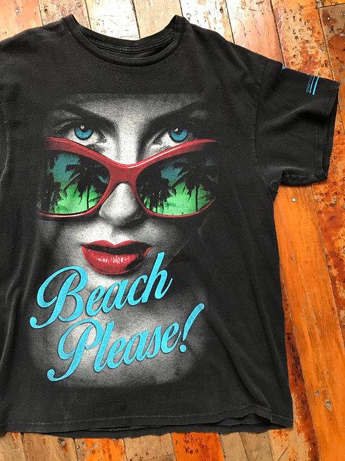 Rad t-shirt beach palm trees