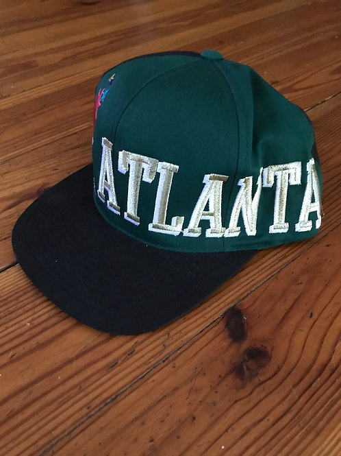 1996 ATLANTA vintage snap back hat