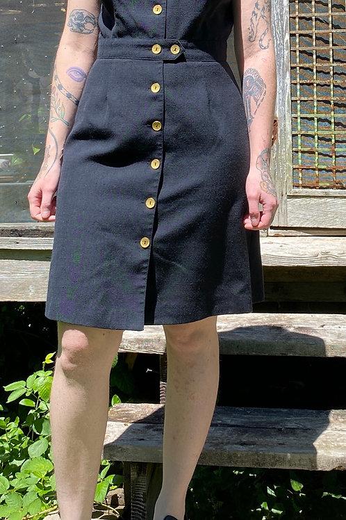 Vintage 90s black dress