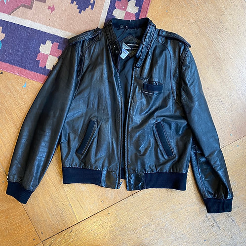 Vintage members only leather jacket