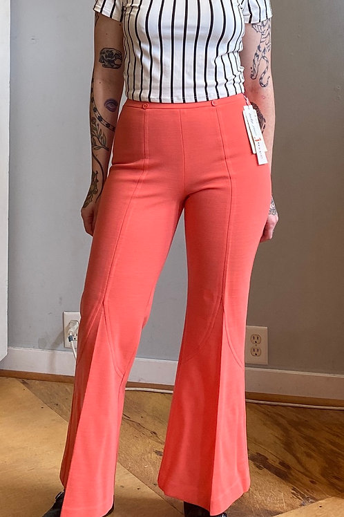 Vintage dead stock polyester flares