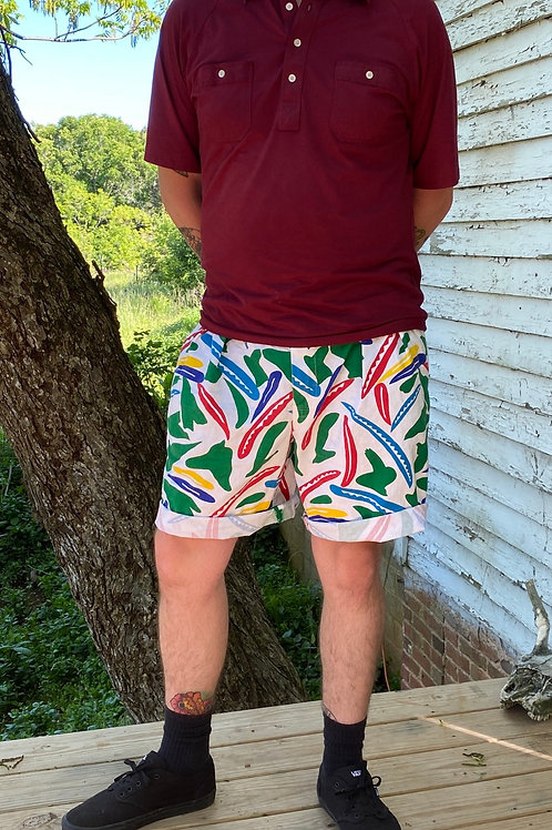 Wacky vintage shorts