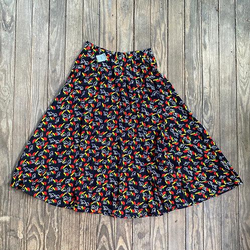 Vintage polyester skirt