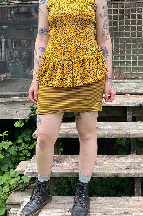 Vintage 80s dress with bow