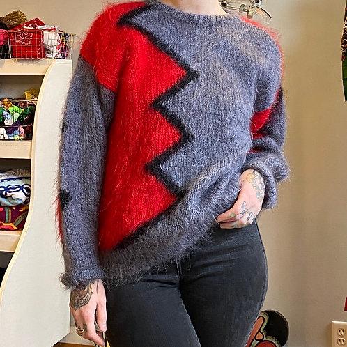 Vintage wool/mohair sweater