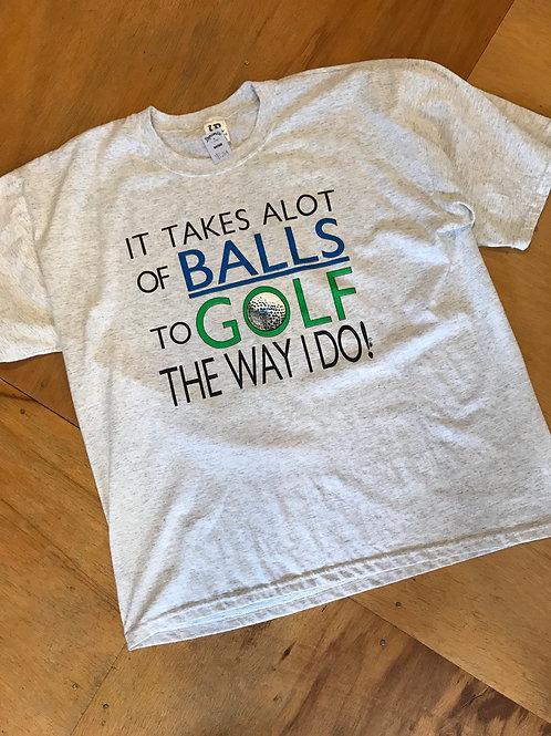 Vintage golf t