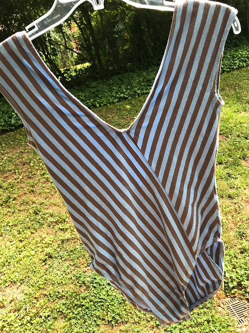 The best vintage striped body suit