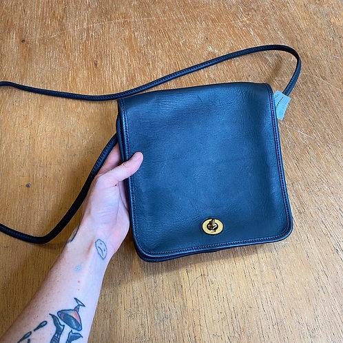 Vintage COACH bag navy blue