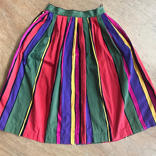 Vintage cotton skirt 25 w