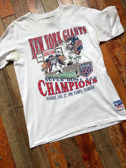 1991 vintage NY Giants
