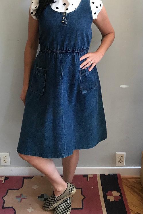 Vintage Sasoon denim dress!