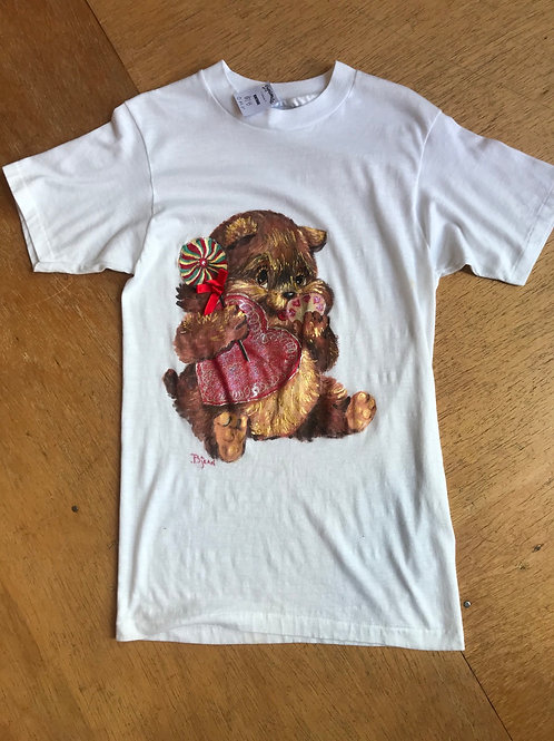 Vintage bear and treats shirt