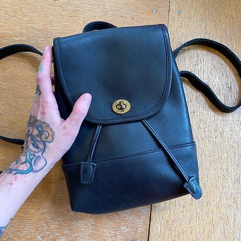 Genuine COACH mini-backpack