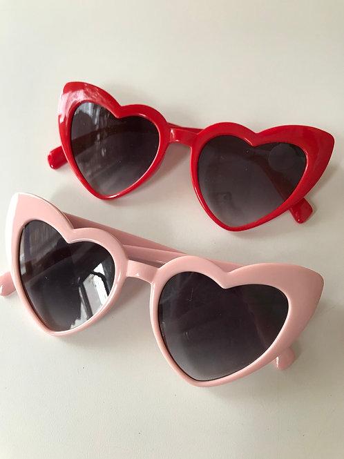 New heart shaped cat-eye shades