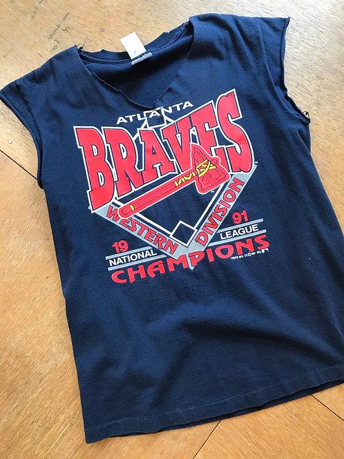 Vintage 1991 BRAVES t-shirt