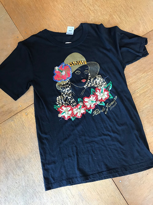 Beautiful! Vintage 1980's sequined t-shirt